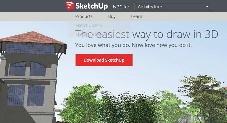 Google Sketchup Best 3d Design Software 3d Printing Partner